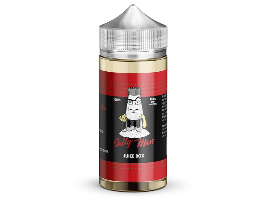 Salty Man 30mL 5% Nicotine Salt E-Liquid - Juice Box