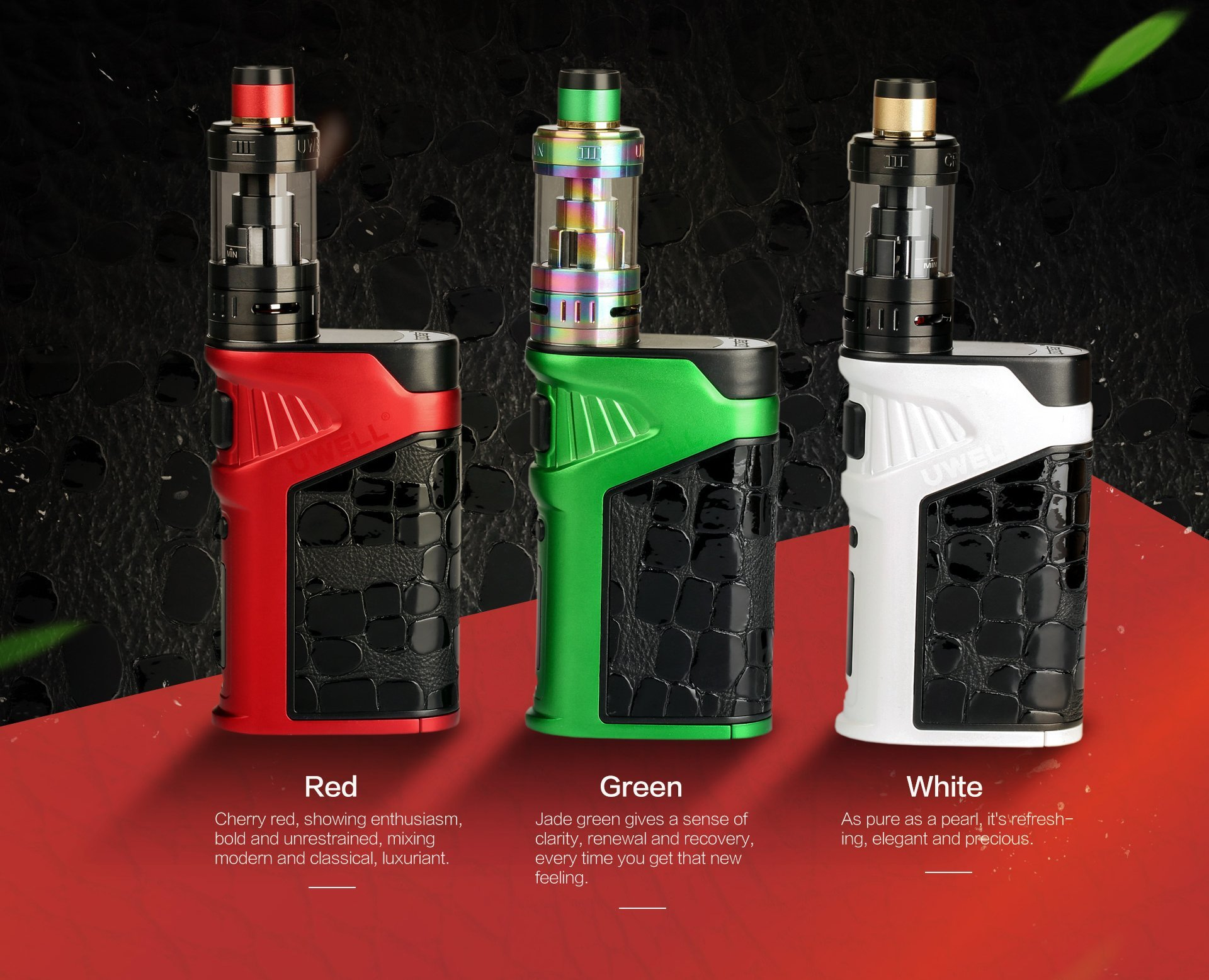Uwell Ironfist 200w Tc Box Kit New Colors The
