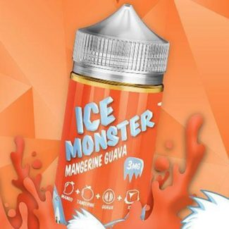 Mangerine Guava Mangerine Guava vape juice comes in a 100ml chubby gorilla bottle. This e-liquid's 75 percent vegetable glycerin (VG) and 25 percent propylene glycol (PG) base is great for those who desire the fattest, puffiest clouds imaginable. Ice Monster has taken fruit blends to the next level by dreaming up Mangerine Guava vape juice. The combination of bright tangerines and tropical guava is guaranteed to invigorate your taste buds like a delicious smoothie. The addition of chilly menthol makes this e-liquid as refreshing as can be. As you inhale Mangerine Guava vape juice, tropical guava flavor tingles on each taste bud as its tangy and sugary taste sends you off to paradise. Then, a sweet tangerine flavor with its cheery citrus taste quenches your thirst. As you exhale, an ice-cold menthol stream cools you down.