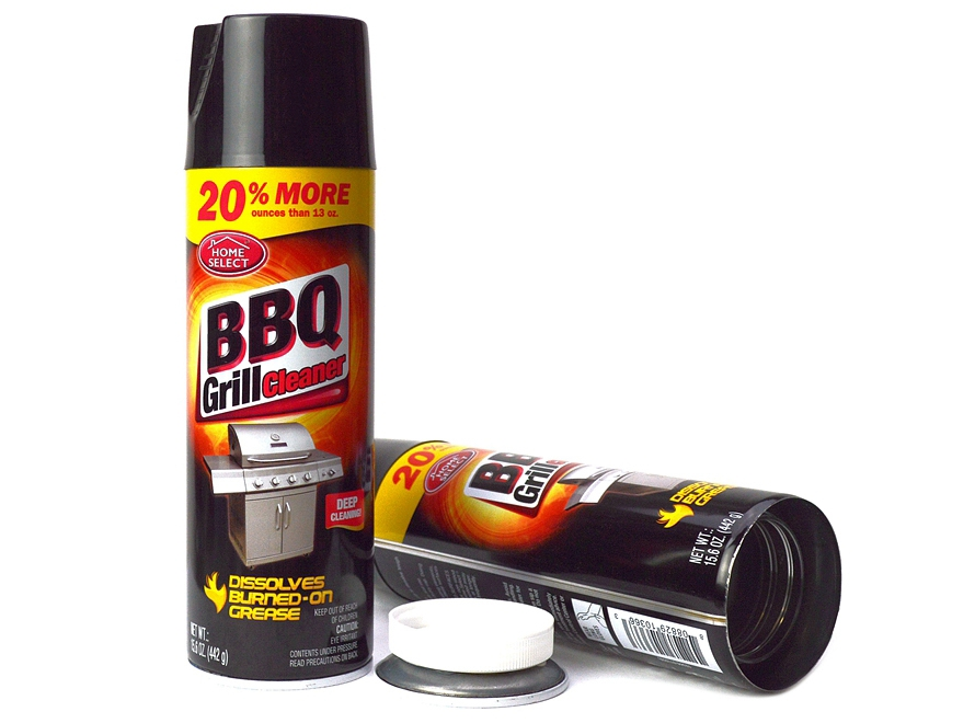 BBQ Grill Cleaner Safe Can