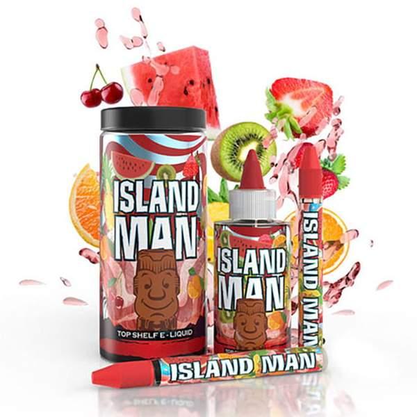 One Hit Wonder Man Series TruNic 2.0 Nicotine Salts 100mL E-Liquid – Island Man