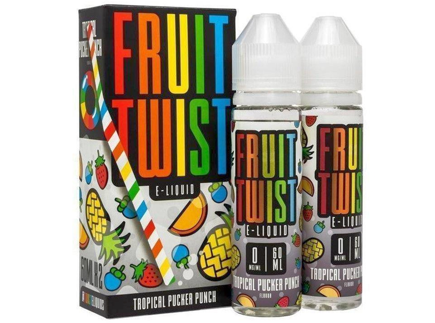 Fruit Twist E-Liquid 120mL - Tropical Pucker Punch