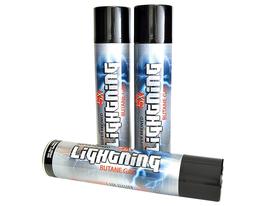 Super Refined Lightning 5x Butane Gas