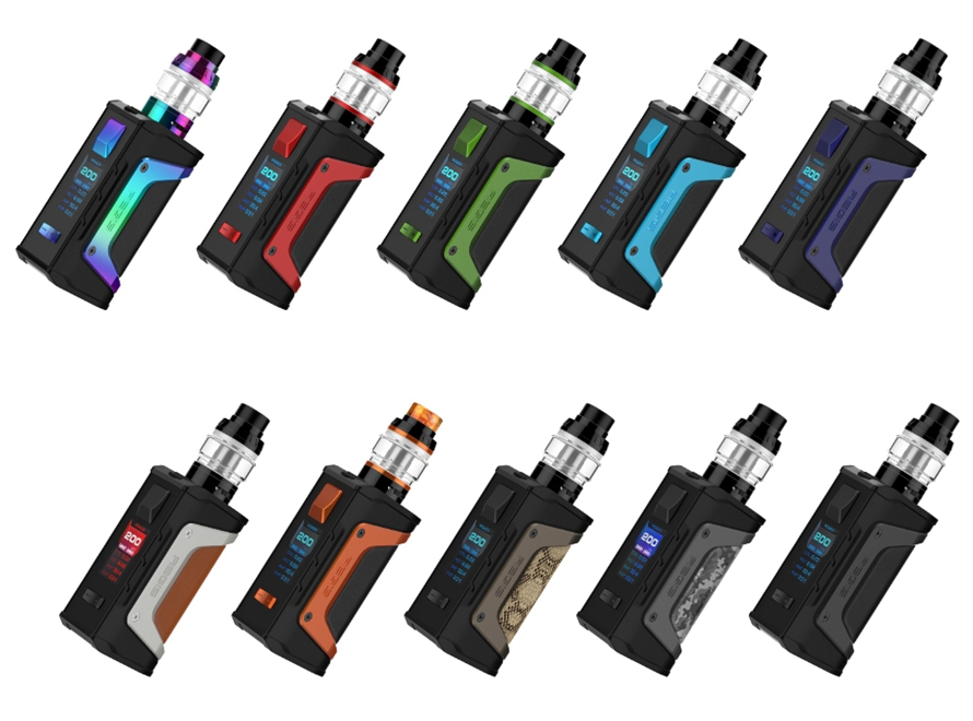 Aegis Legend 200W Kit with Aero Mesh Tank By Geek Vape