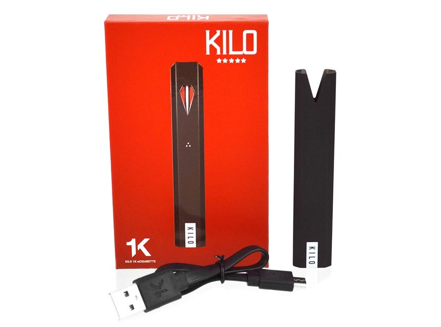 KILO 1K Display Set (1 Premium POP Display Case + 10 Batteries + 30 Pod Packs)