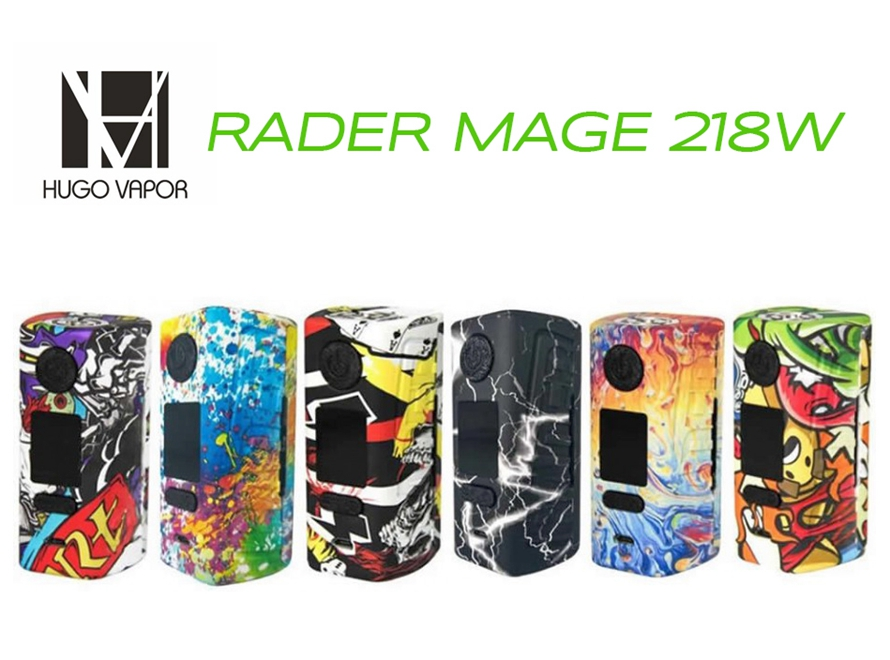 Hugo Vapor Rader Mage 218W TC Box Mod