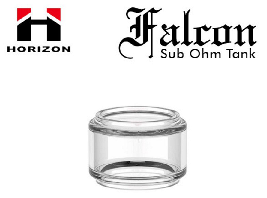 7mL Bulb Pyrex Glass Tube for Horizon Falcon Sub-Ohm Tank