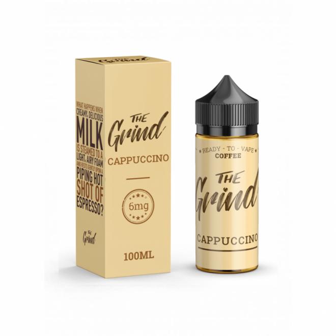 cappuccinoThe Grind 100mL E-Liquid