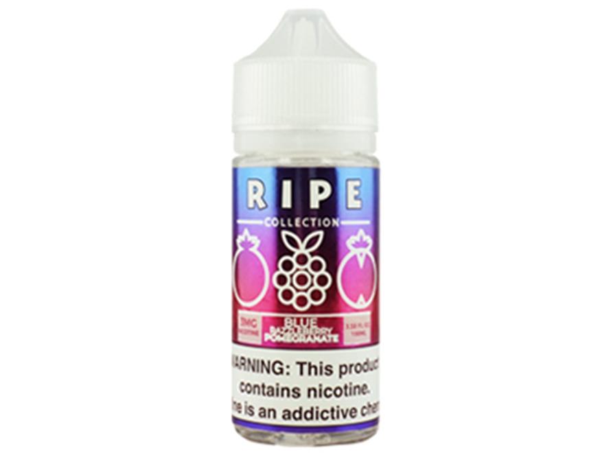 Ripe Collection 100mL E-Liquid - Blue Razzleberry Pomegranate