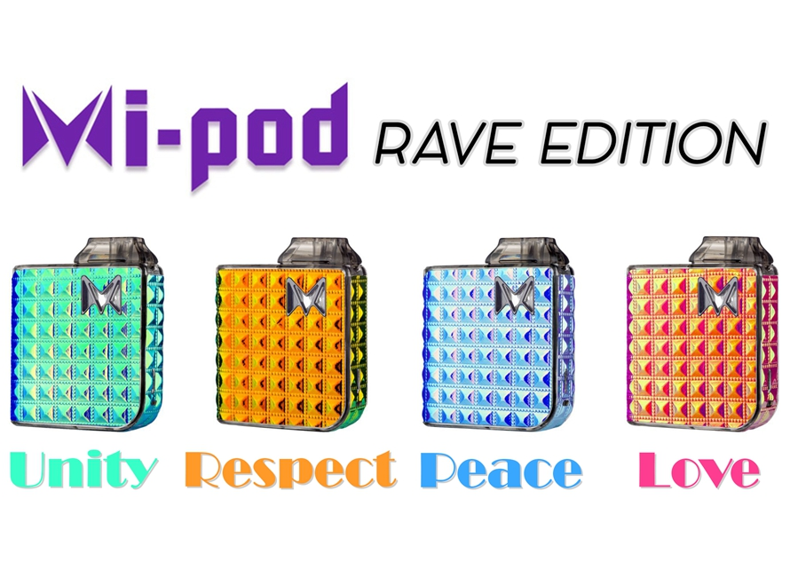 Mi-Pod Ultra Portable All-in-One Starter Kit (Rave Edition)