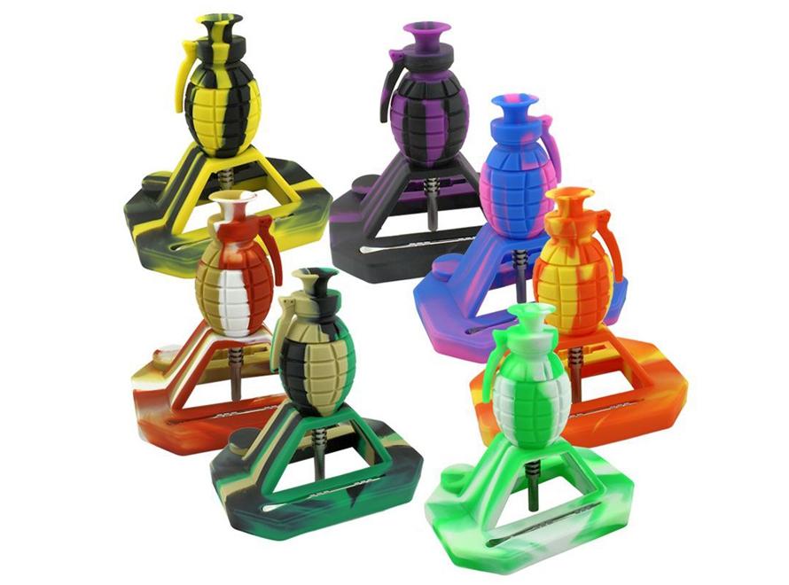 """6"""" Grenade Silicone Nectar Collector"""