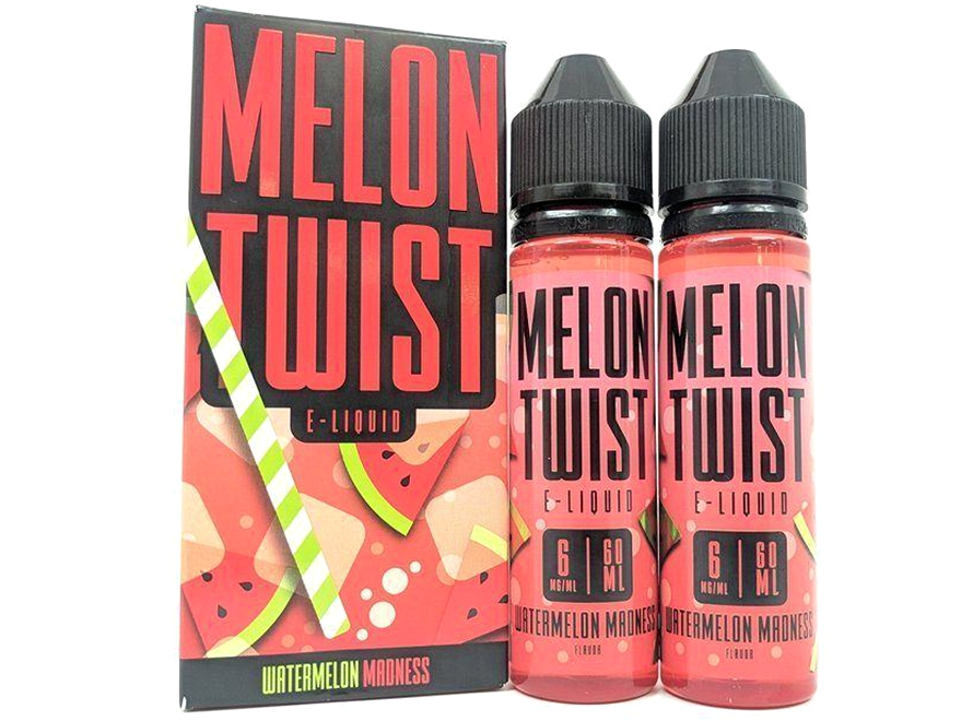 Melon Twist E-Liquid 120mL - Watermelon Madness