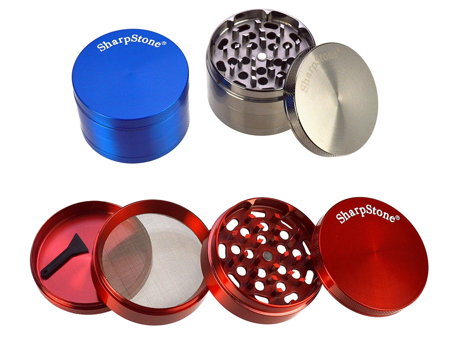 SharpStone 4-Piece Metal Grinder D-2.5""