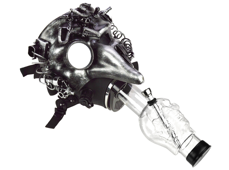 Gas Mask Water Pipe Made in USA