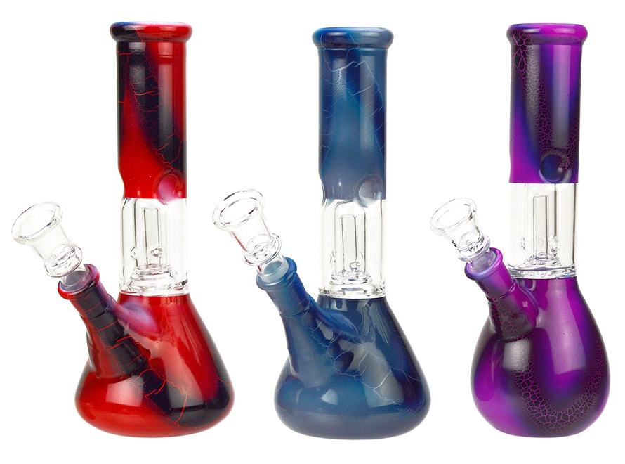 8″ Beaker Base Glass Water Pipe