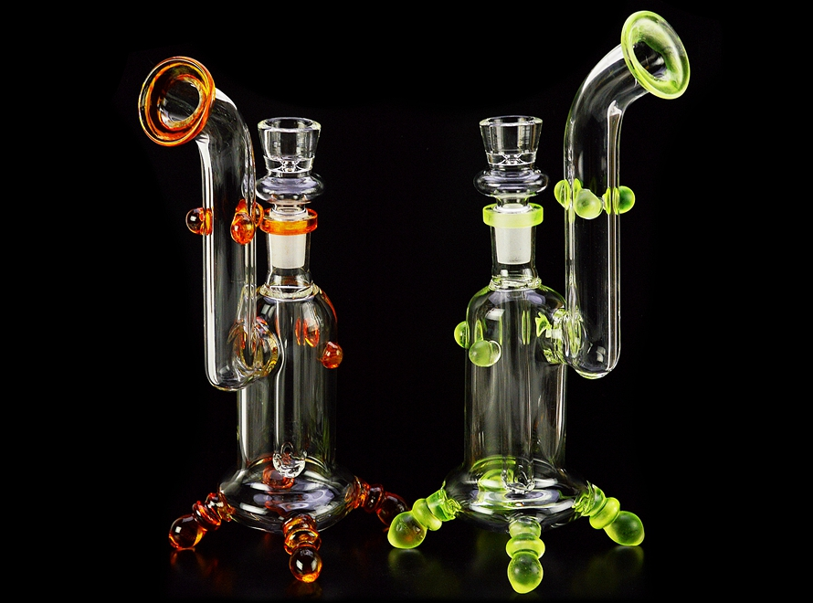 "8"" Glass Water Pipe"
