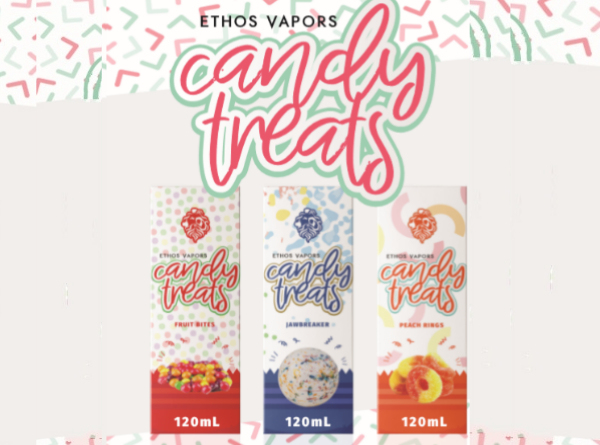 Ethos Candy Treats 120mL E-Liquid