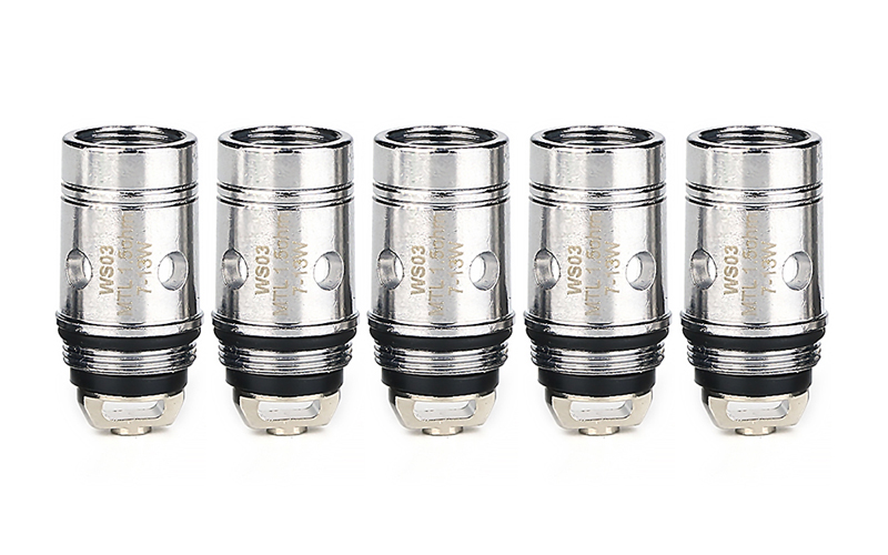 WISMEC MTL Replacement Coil Head for Amor NS (5pcs)