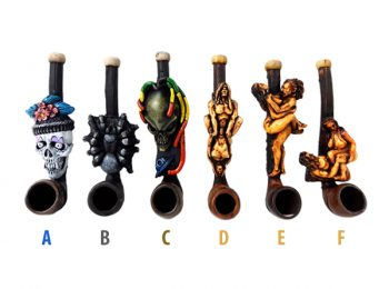 Hand Crafted Resin Smoking Pipe