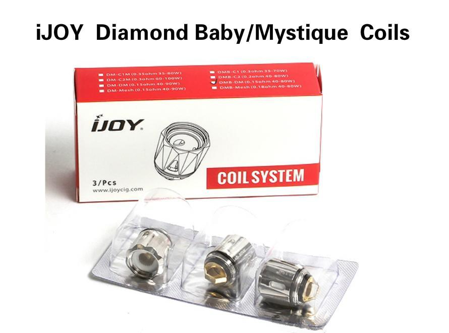 iJOY Diamond Baby/Mystique Replacement Coils (3pcs)