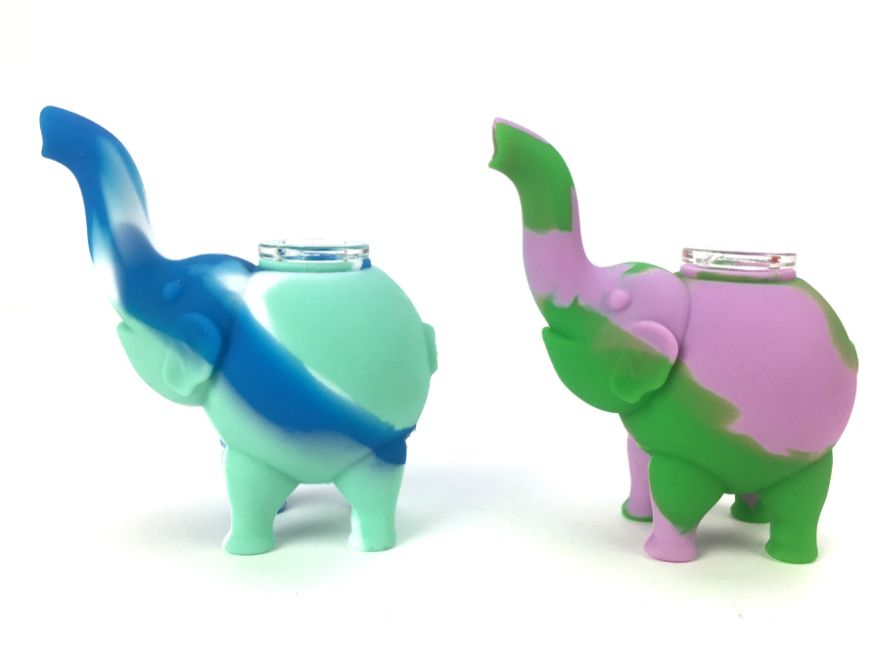 elephant Silicone Pipe