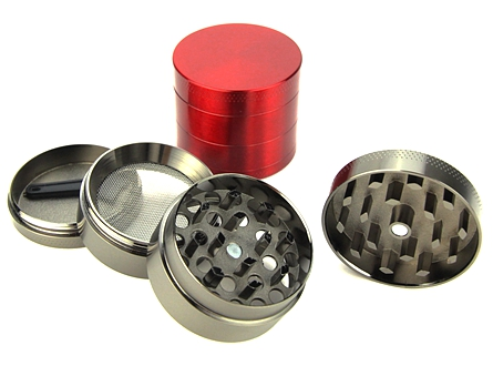 Aluminum 4-Piece Herb Grinder