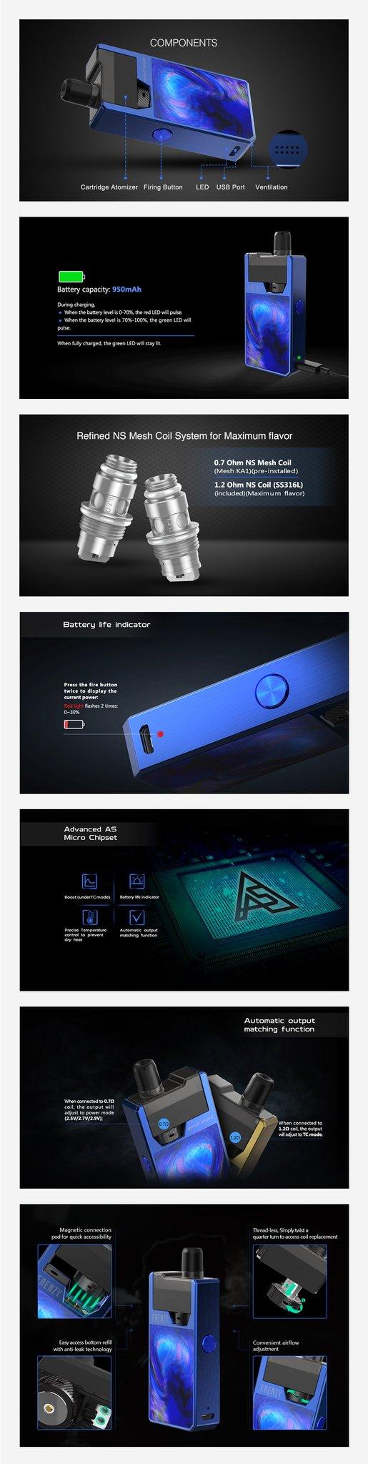 GeekVape Frenzy Pod Kit