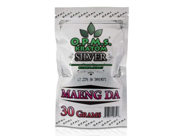 OPMS Silver Maeng Da Kratom