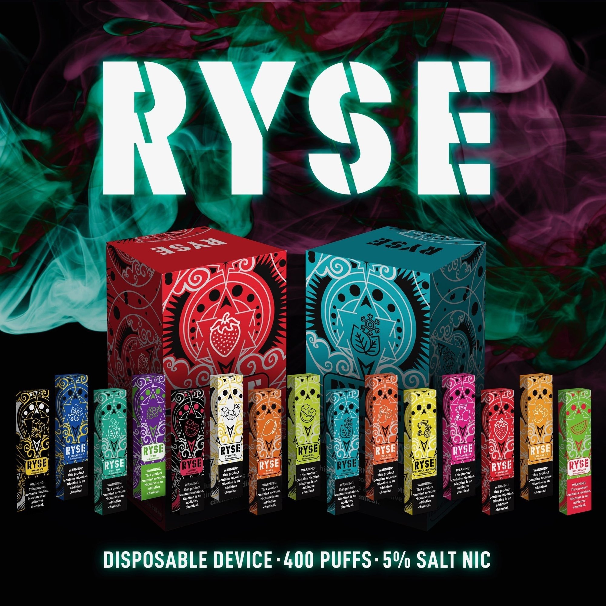 RYSE Disposable Device