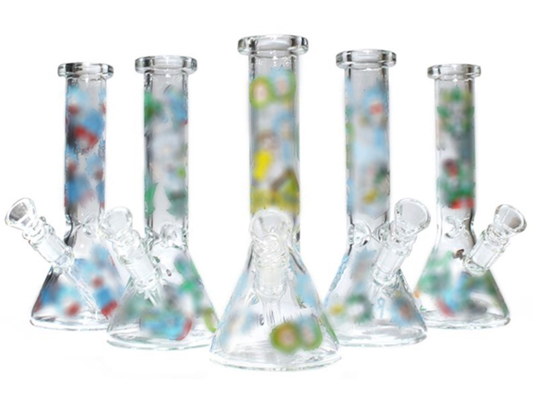 8.5″ R&M Glass Water Pipe