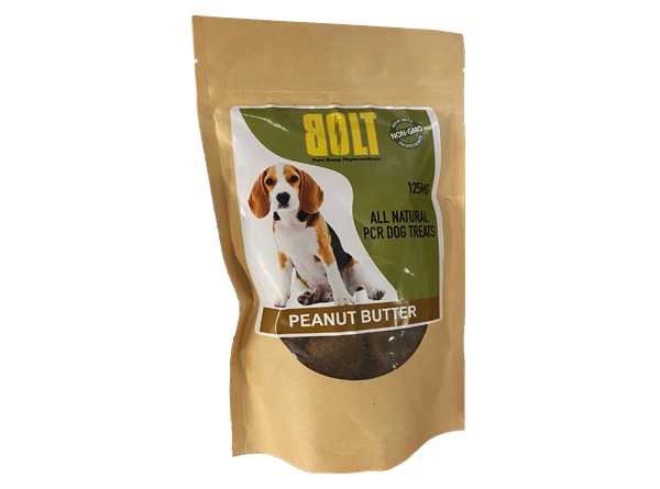 BOLT CBD dog treats