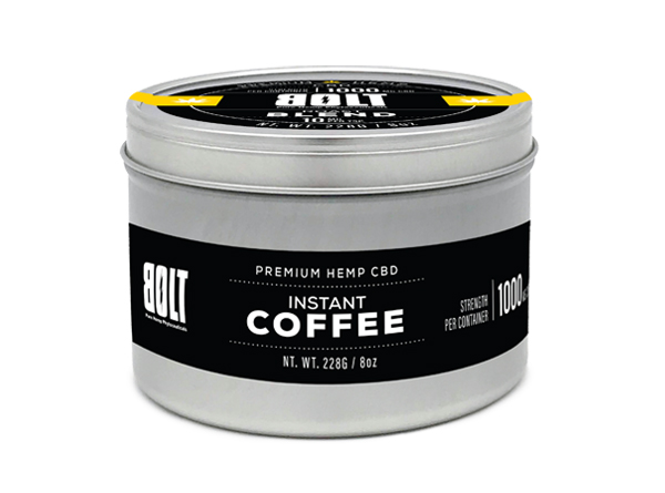 Bolt CBD Instant Coffee