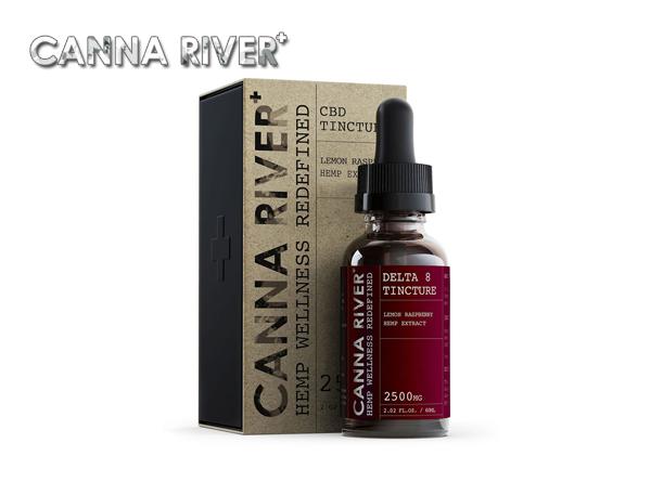 Canna River Delta 8 THC Tincture Oil 60ML