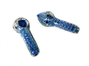 "4"" Blue Glass"