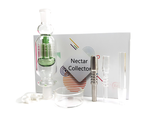 Nectar Collector Kit with 14mm Glass and Titanium Nail
