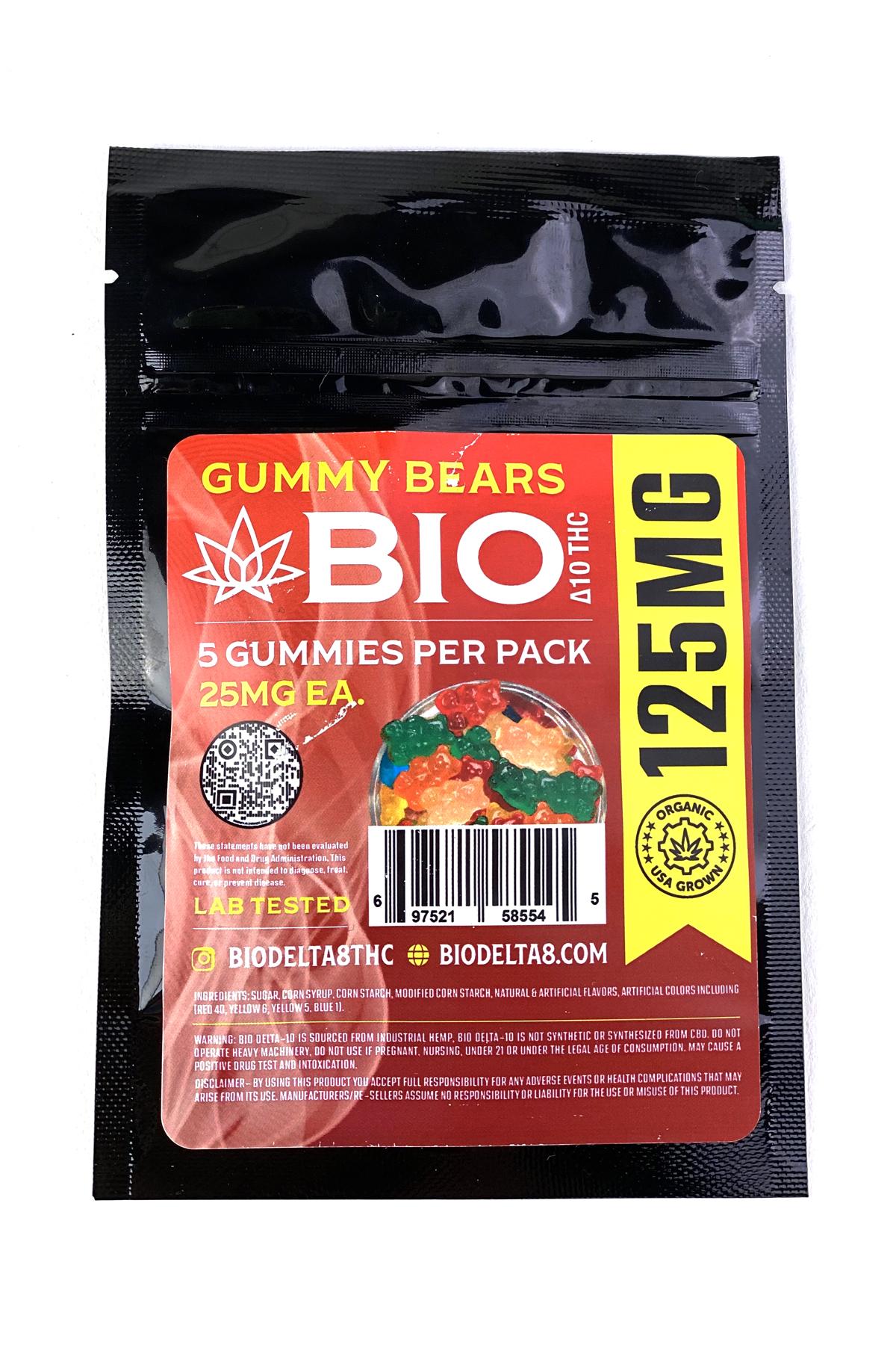 Bio Delta 10 Gummy Bears