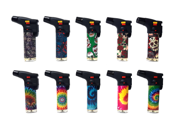 Torch Lighter with Flame Lock